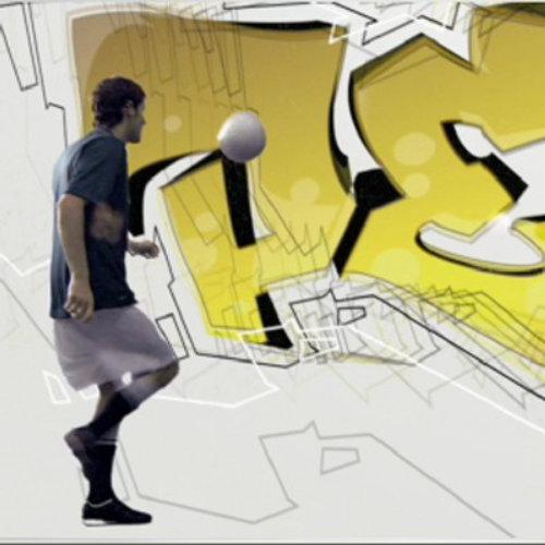 Animation video of Pro Evolution Soccer