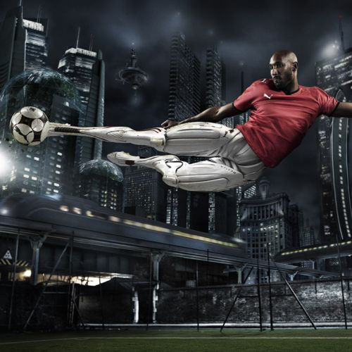 Photorealistic design for PUMA Anelka