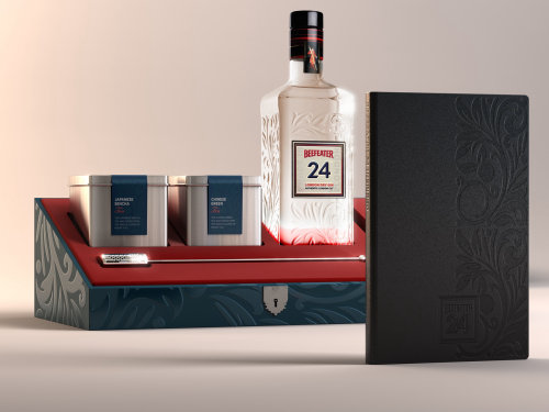Beefeater_Gin packaging illustration