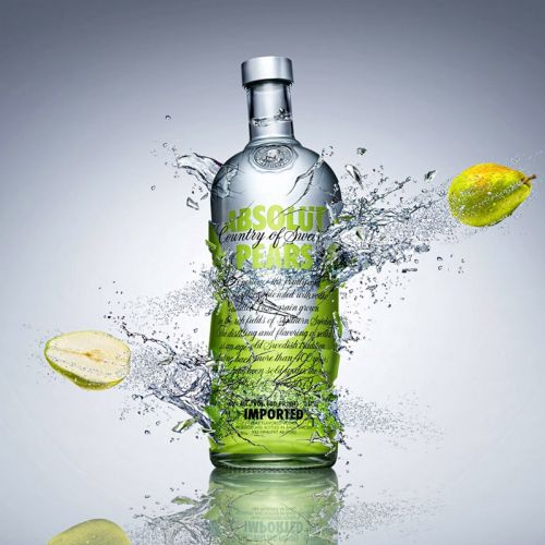 Absolut Pears Vodka Branding Work