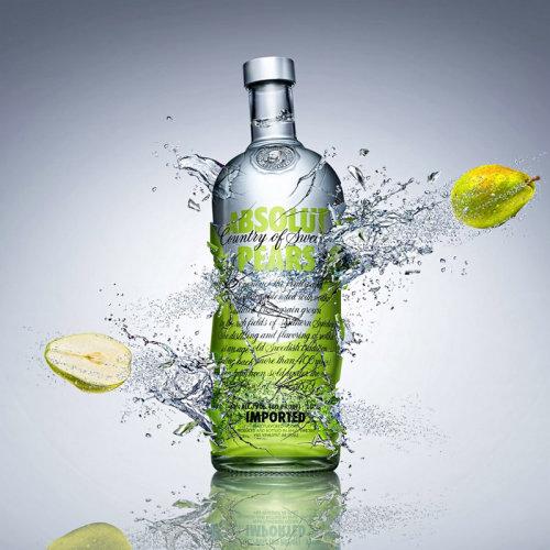 Absolut Pears Vodka Branding Work