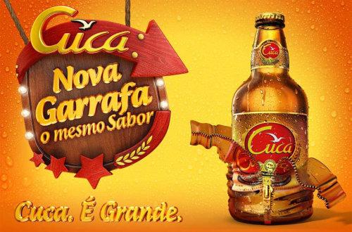 Packaging illustration of Cuca Bottle