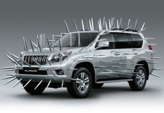 CGI Car Modelling of Toyota Prado Land Cruiser