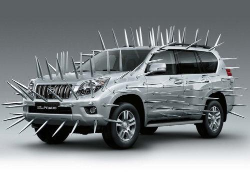 CGI Car Modelling of Toyota Prado Land Cruiser