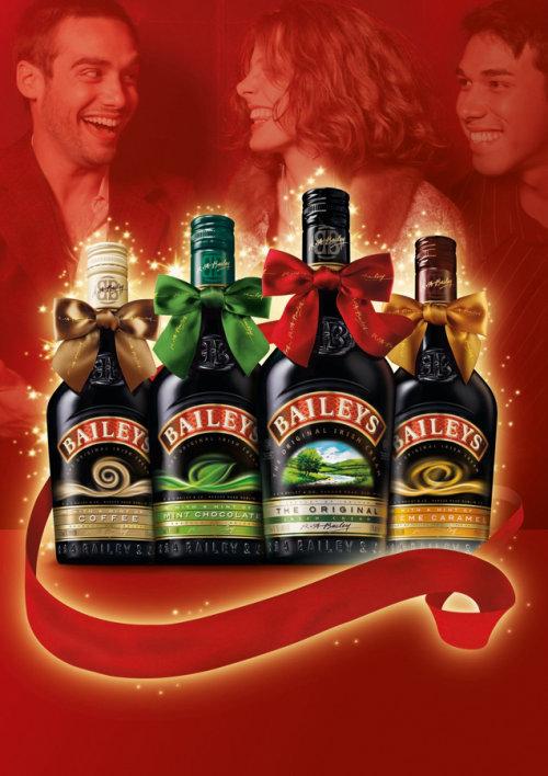 Beautiful Christmas Promotional Branding Work For Baileys