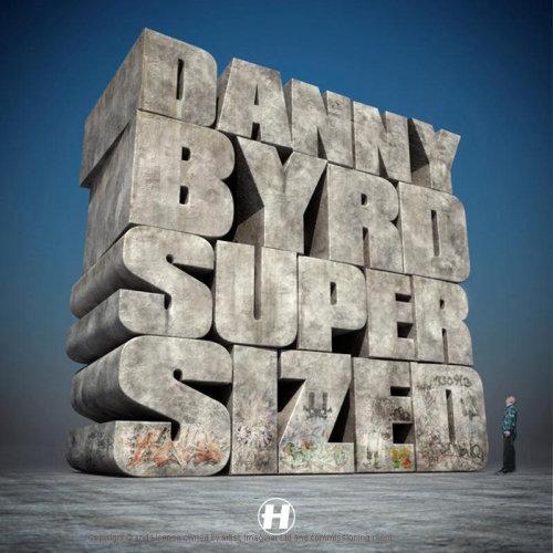 Danny Byrd Super Sized 3d Lettering