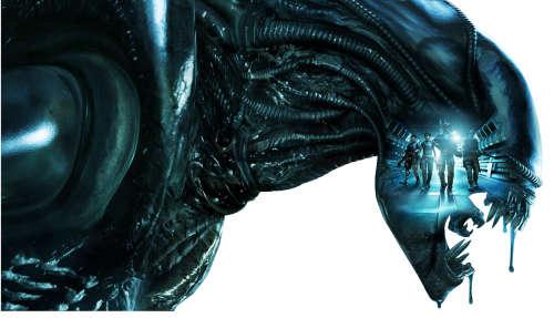 Alien character artwork
