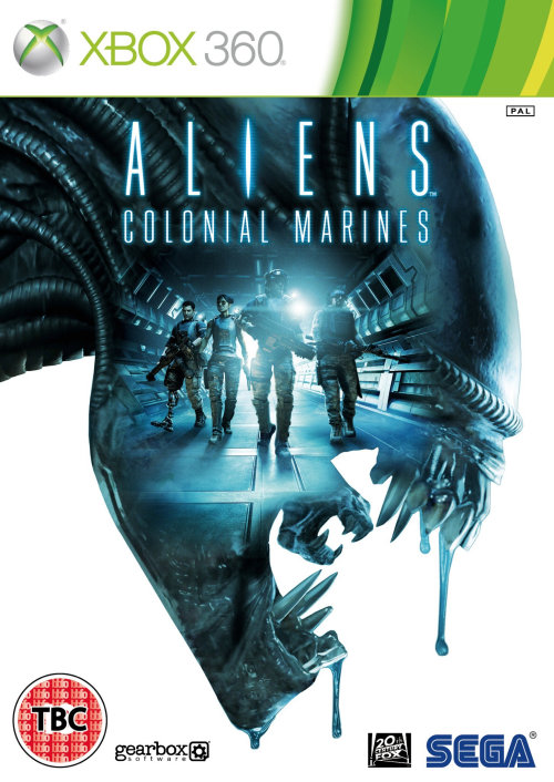 Aliens Colonial Marines Poster Art para Xbox 360