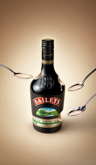Baileys Bottle CGI Creation