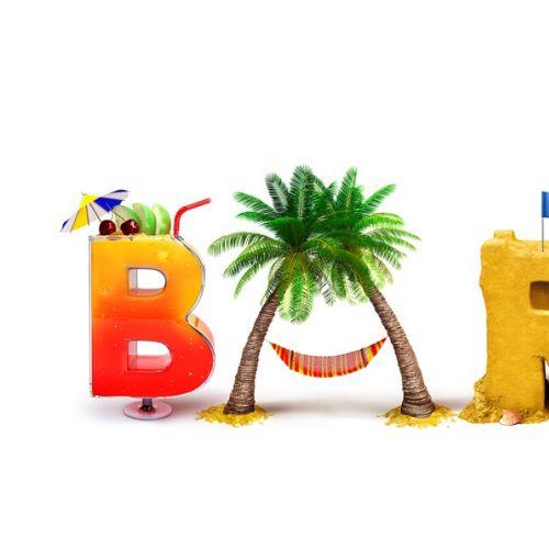 Barbados Lettering Design