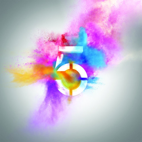 Exploding Illustration For Channel5 Logo