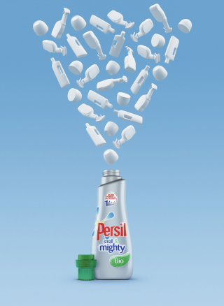 Illustration of Persil small & mighty detergent
