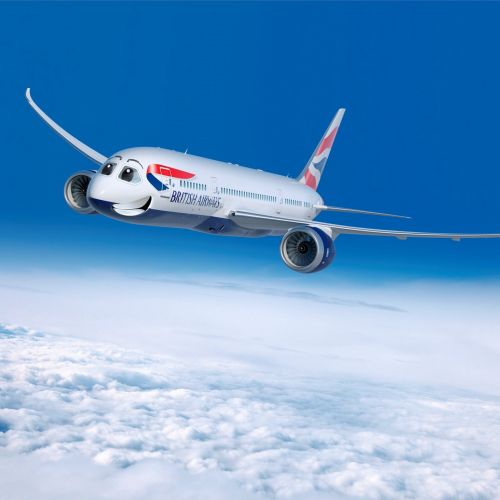 British Airways 3d Illustration