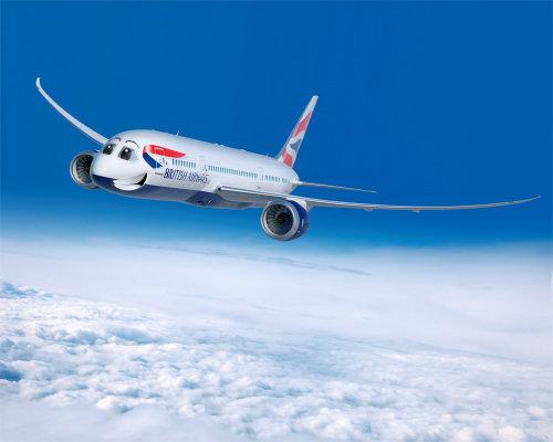 British Airways 3d Illustration