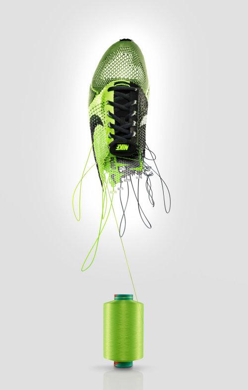 CGI Design Of Nike Shoe