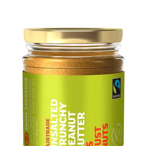 Unsalted Crunchy Peanut Butter Bottle Illustration