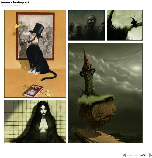 Estilo de storyboard Fantasy Gothis