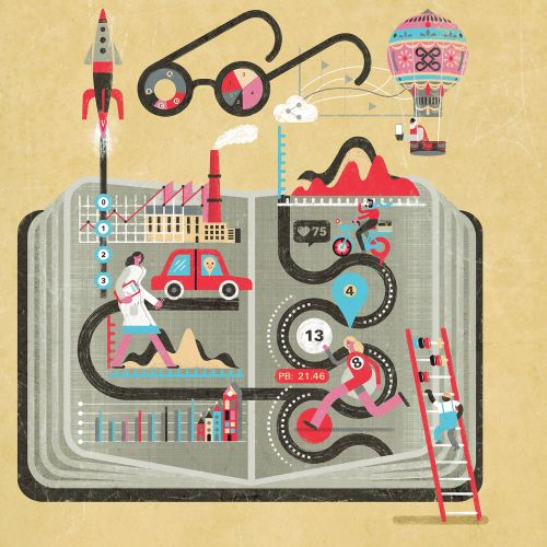 Narrative by Numbers Book cover illustration