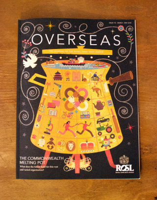 Cover Illustration For ROSL Publication