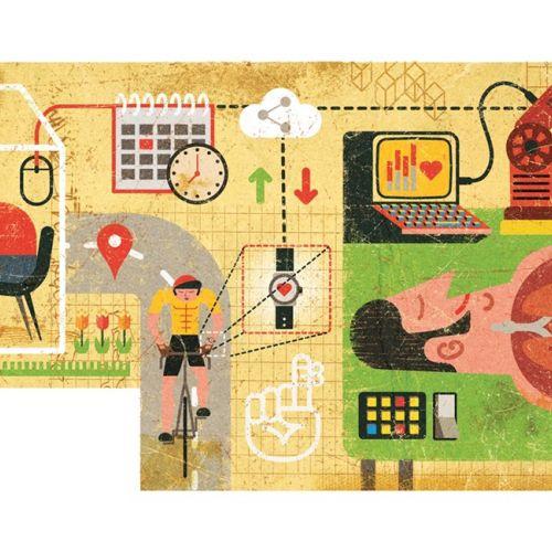 Future NHS conceptual graphic design