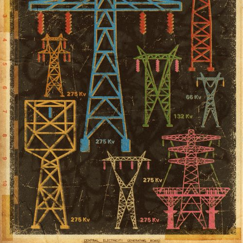 Multiple KV Pylons