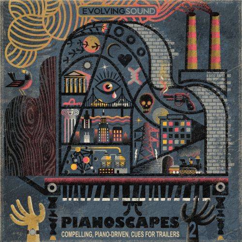 Conceptual Pianoscapes