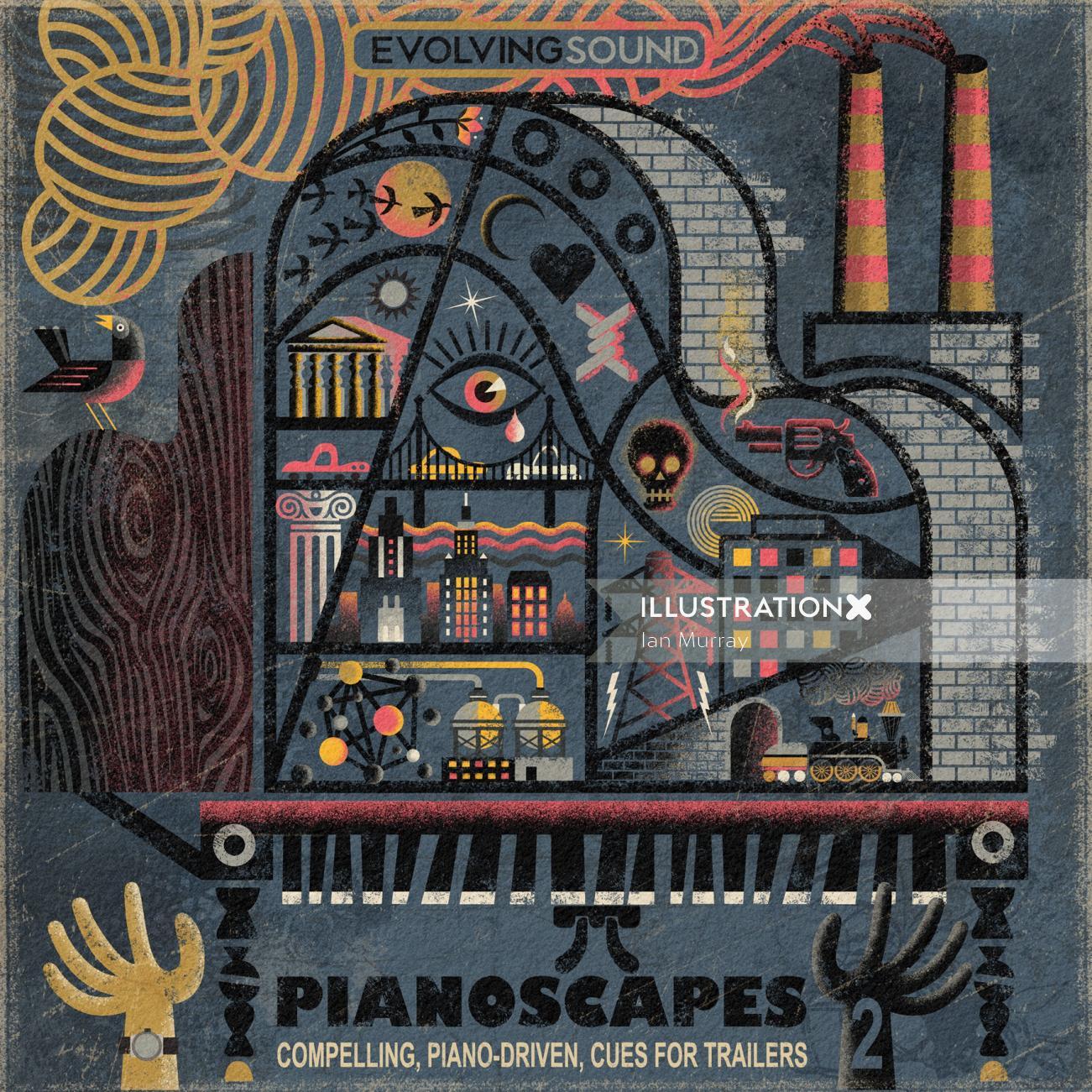 Conceptual Pianoscapes