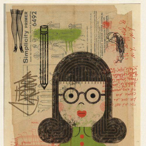 Ian Murray Retro conceptual illustrator. UK