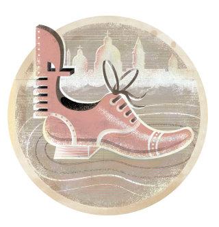 Digital art image of a shoe