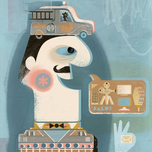 French cover conceptual design