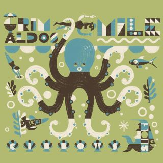 Octopus Retro Design By Ian Murray Illustrator