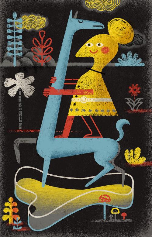 Bird on Giraffee conceptual design