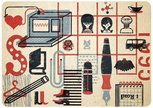 Conceptual graphic design Family Good