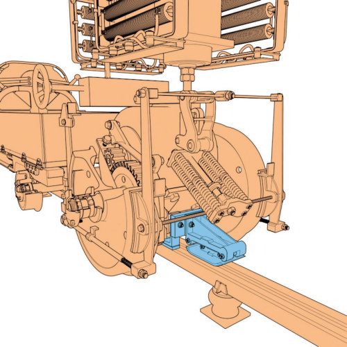 Cgi illustration of Machine tool