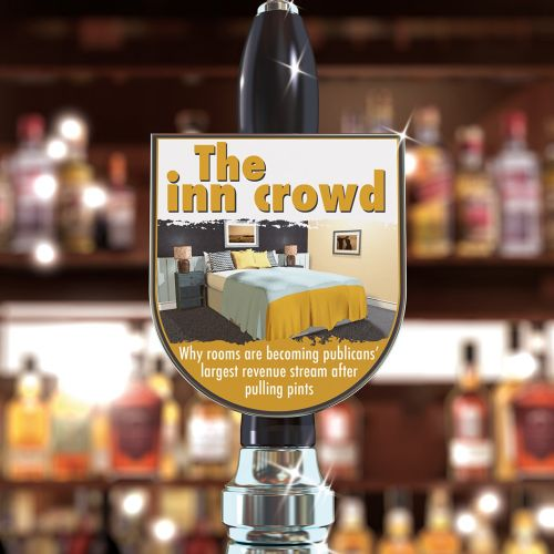 Graphic design of The Inn Crowd