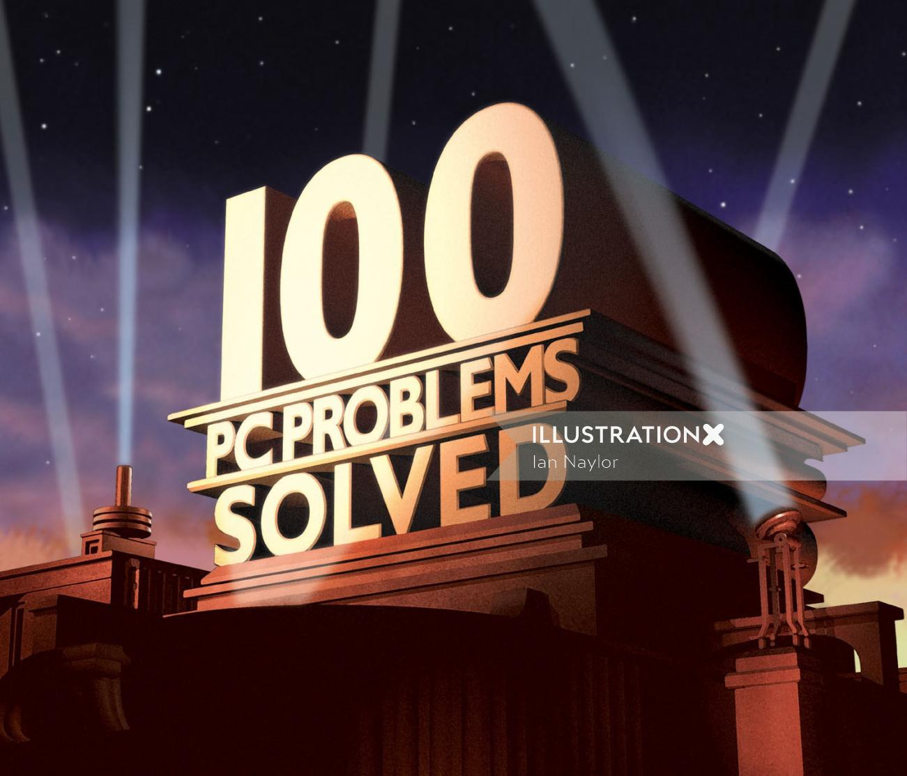 100 PC Problems 3d Design
