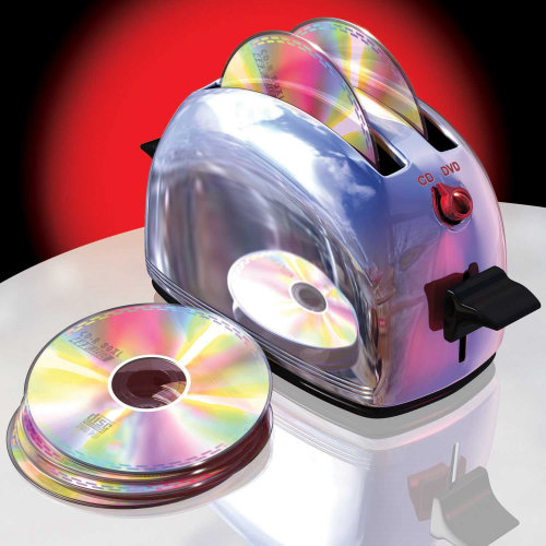 CD in Toaster