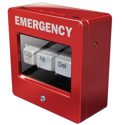 3d Emergency box CTRL + Alt +DEL