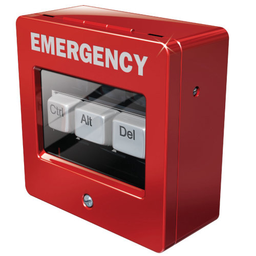3d Emergency box CTRL + Alt +DEL