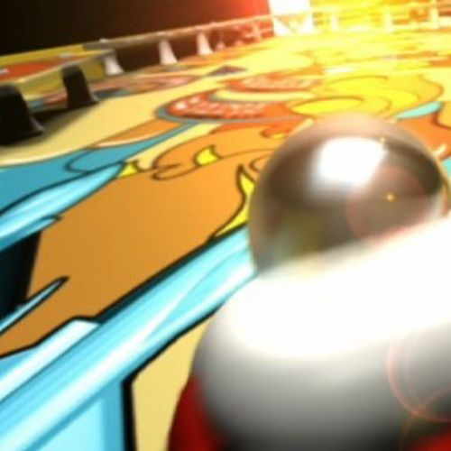 Pinball game animation by Ian Naylor