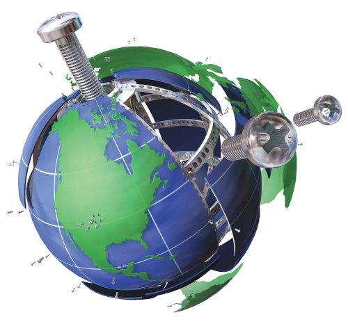 3d Hardware Globe