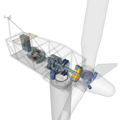 Turbine Illustration | Technical style gallery