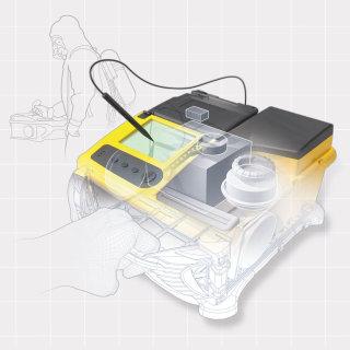 Spectrometer illustration | Technical style gallery