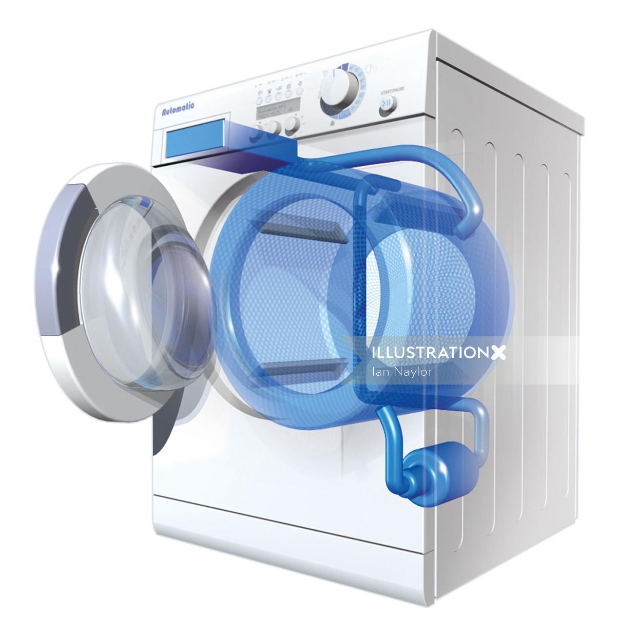 3d Washer design