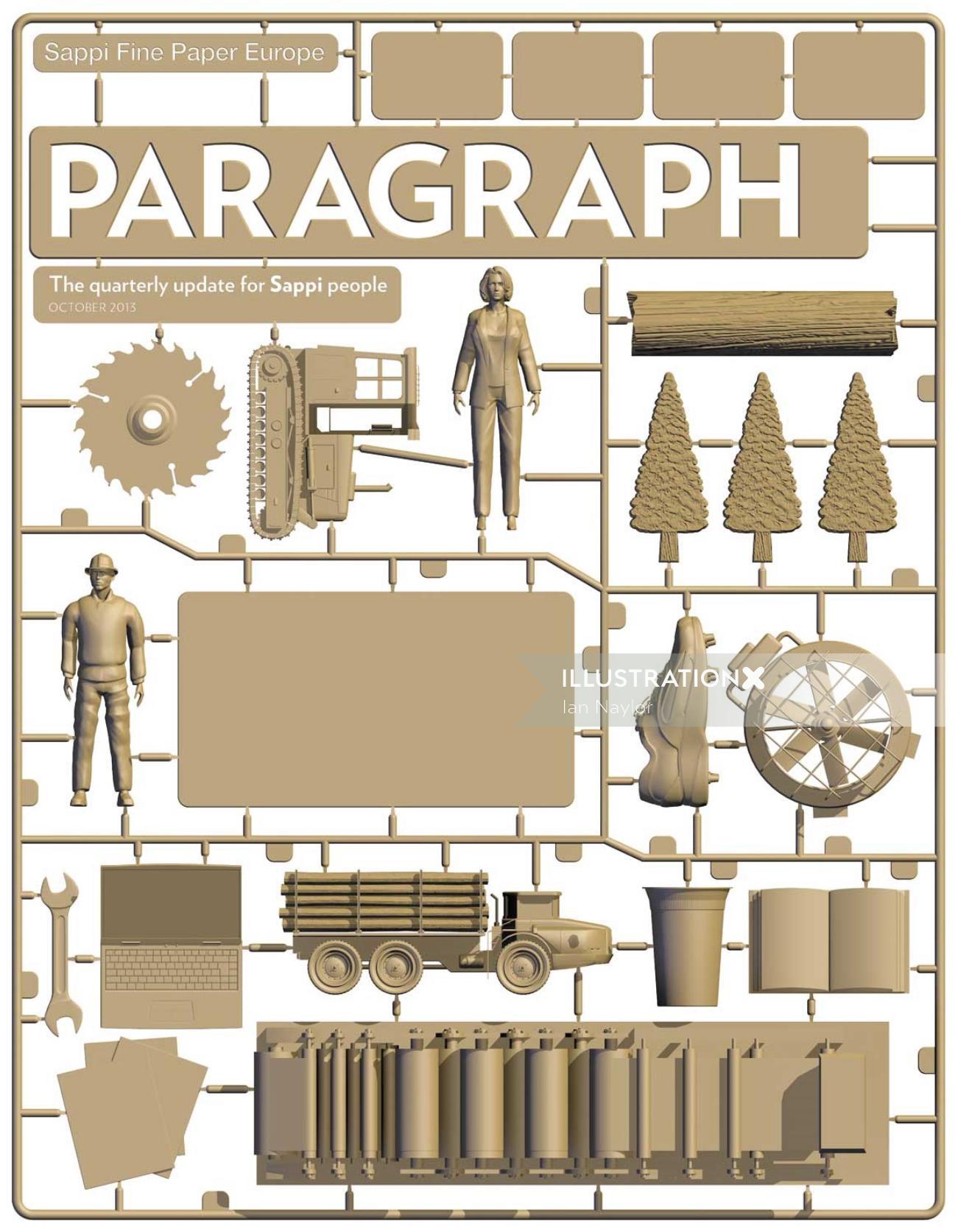Paragraph Graphic Design
