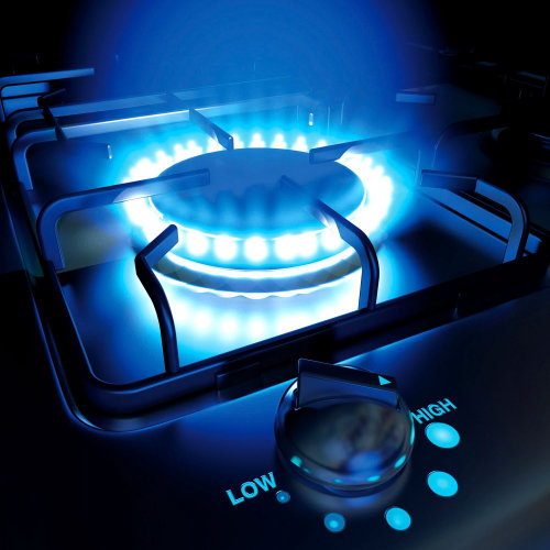 Open burner illustration by Ian Naylor