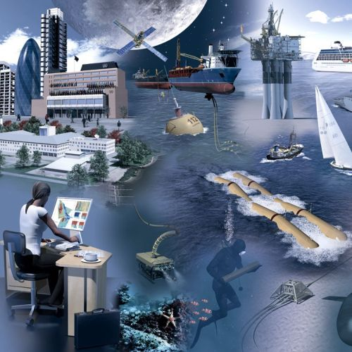 Ship marine illustration by Ian Naylor