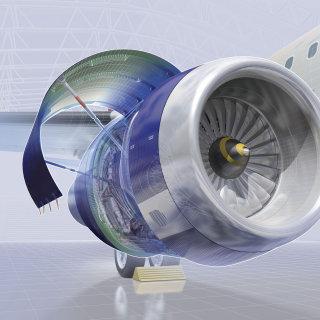 Turbo fan aircraft illustration by Ian Naylor