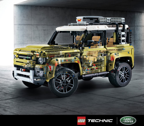 Computer Generated Lego Landrover