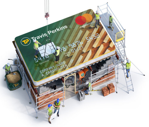 Technical Travis Perkins credit card